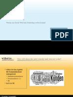 Präsentation Kausch vibrio zu Social Media und Marketing für den Marketing Benchmark Circle am 15 04 2010