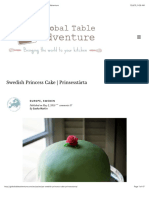 Swedish Princess Cake | Prinsesstårta | Global Table Adventure