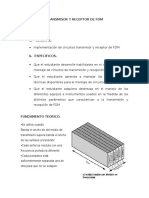 Transmisor y Receptor de Fdm
