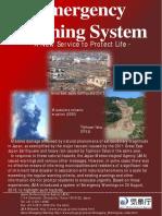 leaflet emergency warning system