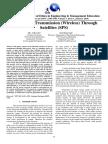 Solar Power Transmission (Wireless) Through Satellites (SPS)