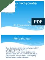 Atrioventicular Nodal Reentry Tachycardia - Ppt