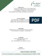7. PDF Memorias de Cálculo de Cantidades de Obra