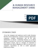 Ethics & Human Resource Management (Hrm) Ppt.. - Copy