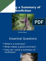 summarizingnonfictionpowerpoint  1