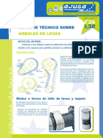 Informe Tecnico Arboles de Levas
