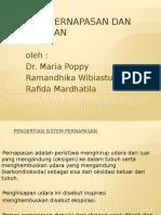Sistem Pernafasan dan Kekebalan Tubuh - Dr. Maria Poppy Herlianti, B.Sc, M.Epid