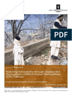 Acf Pakistan Drm (Rne) Final Evaluation