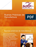 Buenas Practicas de Manufactura