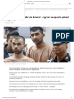 Bangkok Erawan Shrine Bomb_ Uighur Suspects Plead Not Guilty - BBC News