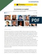 """El """"Top Ten"""" del coleccionismo. El País."""