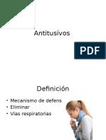 Antitusívos