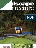 Landscape Architecture. 2009.08