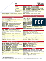 Ubuntu Command Reference Cheat Sheet