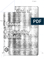 A Guide to Hazard and Operability Studies