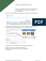 Bilder in Widgets in Wordpress zu fügen geht in der Regel nur mit einem Trick