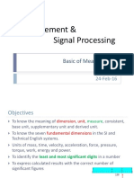 00 Signal Processing Basic of Measurement