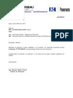 Din Automatización-cotización Servicio de Mantenimiento Preventivo Ups Emerson 6kva-Abril 2015