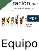 Opercion Bar