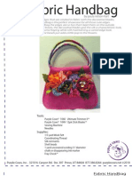 Floral Handbag Pattern by Paula Nelson-Hart