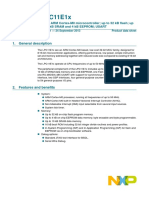 LPC11E1X Product data sheet