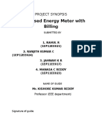 GSM Based Enegy Meter With Billing