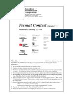1998FermatContest.pdf