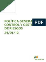 Politica Riesgos Control
