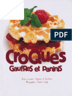Croques Gaufres Et Paninis - Tana n Ditions