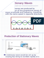 2.3 Stationary Waves