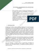 Tema 2 Modelos de Estado y Su Incidencia en Las Politicas Sociales