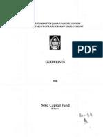 Seed Capital Fund Scheme