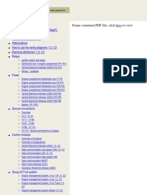 VOLVO S40, V50 Wiring Diagram | Trunk (Car) | Airbag on data sheet pdf, battery diagram pdf, power pdf, plumbing diagram pdf, body diagram pdf, welding diagram pdf,