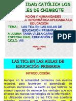 LAS TICs EN EDUCACIÓN PRIMARIA