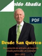 Desde San Quirico (2011-2012) - Abadia, Leopoldo