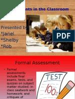 edu-101 assessments