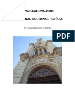 Congregacionalismo - Eclesiologia, Doutrina e História