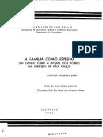 SARTI Cynthia - Família Moral e Pobreza