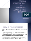 127199144 Pricing Strategies of Airtel Vodafone Aircel Tata