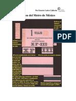 Catalogo de Boletos Del Metro Al 7-02-2016