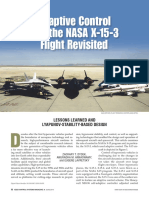 Adaptive Control and the NASA X-15 Revisited