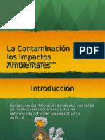 La Contaminacioìn y Los Impactos Ambientales