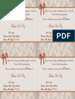 Convite Maria Da Paz