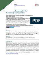 JMP_A Computer Program for the Newman-Janis Algorithm