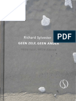 Richard Sylvester - Geen Zelf, Geen Ander