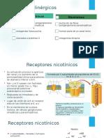 receptores colinergicos