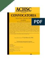 convocatorias revistas indexadas