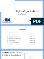 U.S. Civil Rights Organizations at a Glance