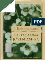 Cartas a Uma Jovem Amiga - J Krishnamurti