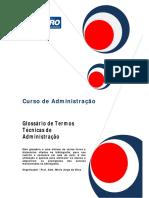 Glossário Administração 2011 1 n